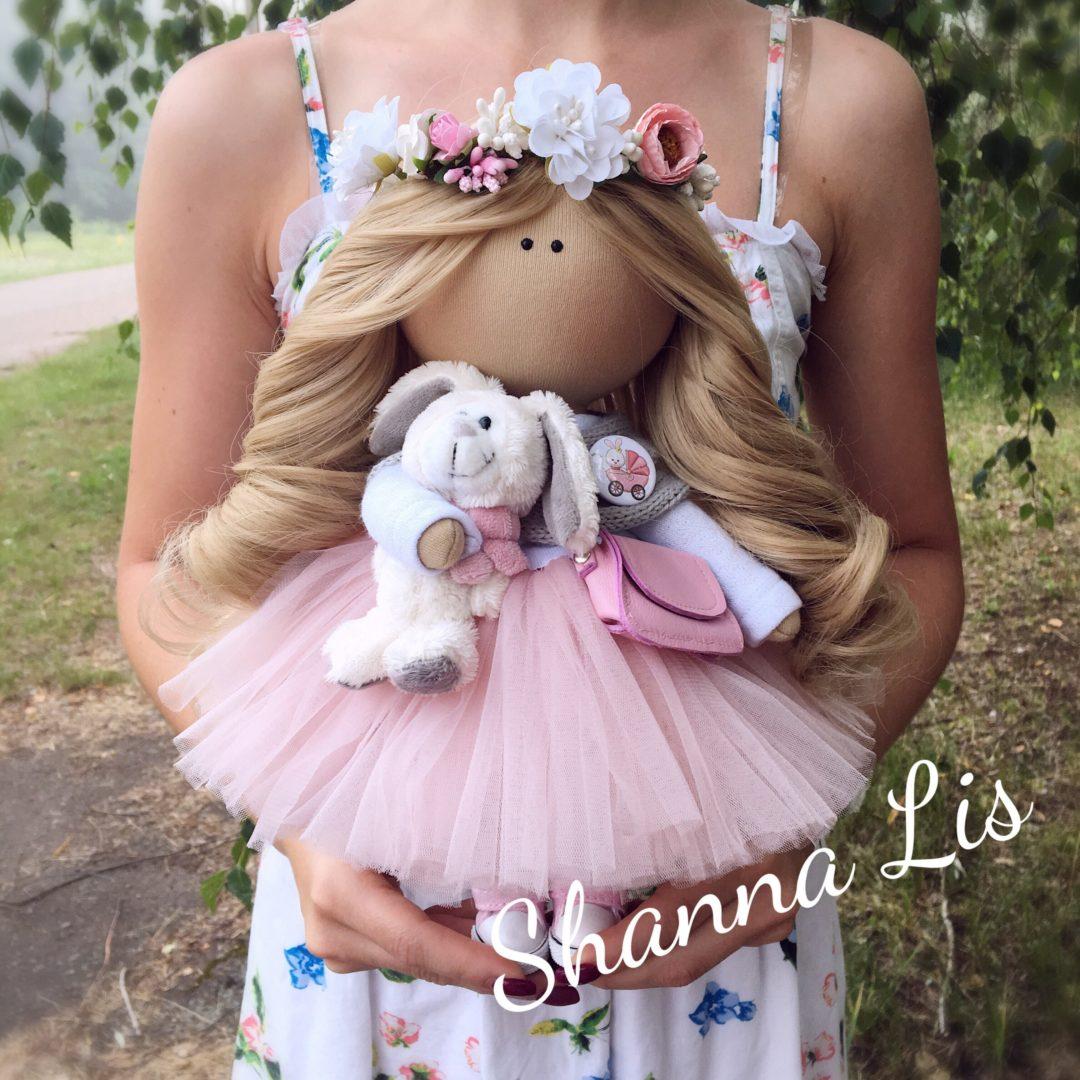 Интерьерные текстильные куколки от Shanna Lis